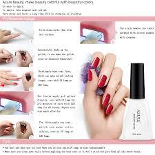 amazon com azure beauty gel nail polish set mood color change
