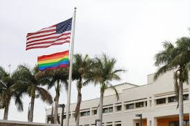 Costarica Flag Us Embassy In Costa Rica Hoists Rainbow Flag To Honor Sexual