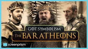Game Of Thrones Game Of Thrones Symbolism The Baratheons Youtube