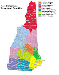New Hampshire State Map by Basic Maps U2013 Life In The Free State