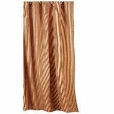 Black Ticking Curtains Amazon Com Home Collection By Raghu York Ticking Barn Red And
