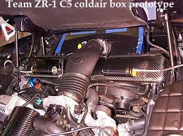 c4 corvette cold air intake team zr1 cold air box
