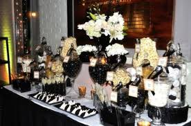 Wedding Candy Table 56 Elegant Black And White Wedding Dessert Tables Happywedd Com