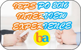 ibps po interview experience 47