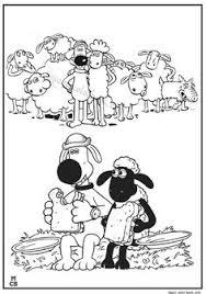 shaun sheep christmas coloring pages kids printable free