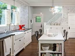 wallpaper kitchen ideas 1000 ideas about kitchen alluring kitchen wallpaper ideas home