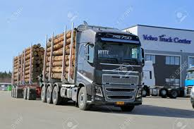 2014 volvo truck tractor lieto finland april 5 2014 volvo trucks presents the new