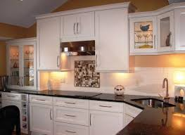 Kitchens  Kitchen Decor With Glass Door Kitchen Cabinet Also - Corner sink kitchen cabinets