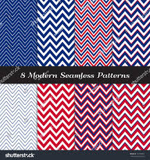 patriotic chevron patterns red white blue stock vector 139338851