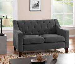 furniture interesting great grey loveseat with fascinating aura
