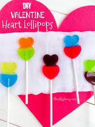 heart lollipop diy heart lollipops thrifty jinxy