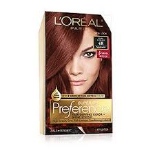 opposite frosting hair kit permanent red hair color red hair dye l oréal paris