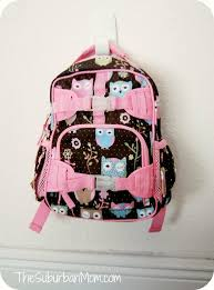 Pottery Barn Mackenzie Backpack Review Back To Gear Is A Hoot At Pottery Barn Kids Thesuburbanmom