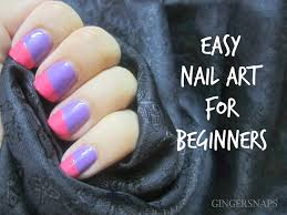 diy easy nail art for beginners using scotch tape gingersnaps