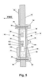 patent us20050006528 integrated cockpit door lock and access