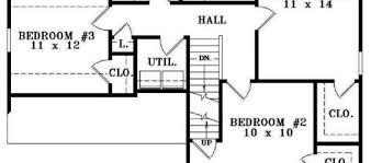 Simple Three Bedroom House Plan Impressive 60 Simple Bedroom Blueprint Decorating Design Of Best