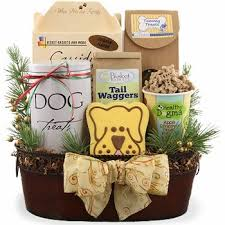 dog gift baskets canine christmas dog gift basket