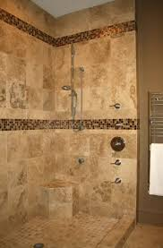 Bathroom Shower Design Ideas by Bathroom Doorless Shower Ideas Black High Glossy Finished Sink