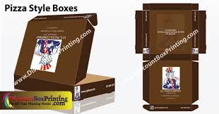 personalized pizza boxes pizza style boxes custom printed boxes discount box printing