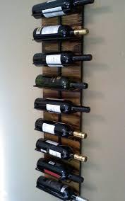 wall ideas metal wall mounted wine glass rack our 5 bottle metal