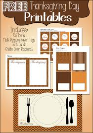 thanksgiving day printables free