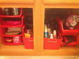 dollar tree organization under master bathroom sink storage my