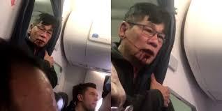 video united passenger forced off plane seen bloody saying u0027kill me u0027