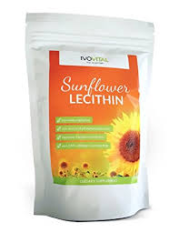 sunflower lecithin powder ivovital non gmo and soy free 1200 g