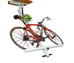 amazon com flat bike lift the new overhead rack to store the