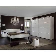 Schlafzimmer Set Mit Boxspringbett Schlafzimmer Set Laspana Mit Strass In Weiß Wohnen De