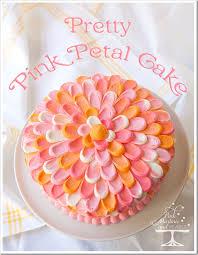 pretty pink petal cake u2013 a wilton cake decorating technique just