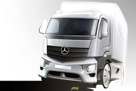 mercedes truck white new antos added to mercedes truck range benzinsider com a