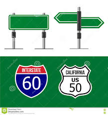 Blank Road Map Template by Road Sign Template Royalty Free Stock Images Image 32591609