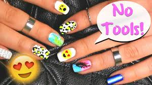 nail art no tools needed easy nail art designs for beginners