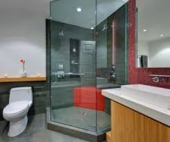 Stone Bathroom Designs Doorless Shower Designs Teach You How To Go With The Flow