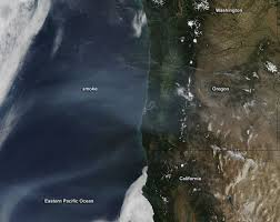 Wildfire News Eastern Washington by Red Skies In U S Pacific Northwest Caused By Smoke From Siberian