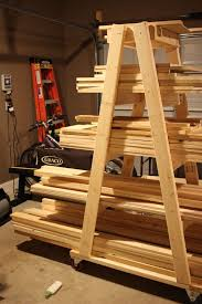 Wooden Storage Rack Plans by Best 25 Lumber Rack Ideas On Pinterest Wood Storage Rack
