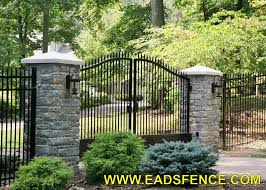 eads fence co your fence store ornamental metal estate gates