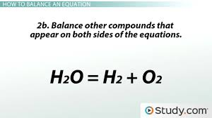 chemical reactions and balancing chemical equations video