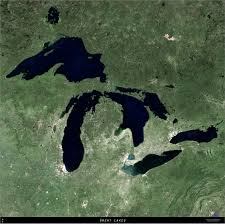 Map Of Great Lakes Large Format Aerial Map Of The Great Lakes The Landowner Network