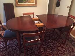 Drexel Heritage Dining Room Furniture Vintage Drexel Heritage Mahogany Dining Room Table And Chairs