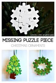the missing recycled puzzle ornaments shel silverstein