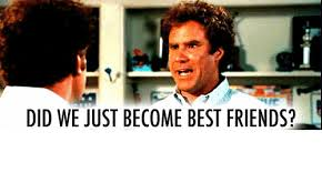 Did We Just Become Best Friends Meme - did we just become best friends friends meme on me me