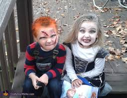 chucky costumes chucky and the of chucky kids costumes