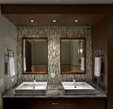 contemporary master bathroom with european cabinets by tzs design