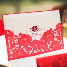 Wedding Invitation Cards Design Sweet Day Fashion Nobleness Rose Wedding Invitation Card Envelope