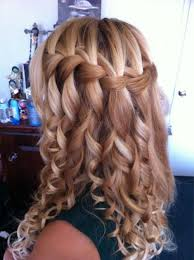 tutorial rambut waterfall formal hair picmia