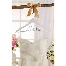 wedding dress hanger mrs dress hanger mud pie