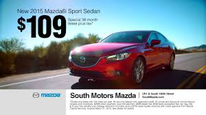 new cars from mazda south motors mazda6 lease offer youtube
