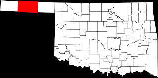 map ok panhandle county genealogy resources travelok oklahoma s